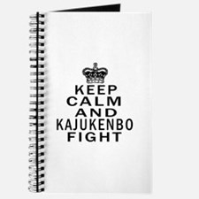 Keep Calm And Kajukenbo Fight Journal