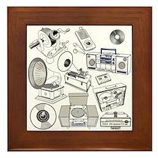 History of Sound Recording Framed Tile