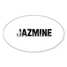 Jazmine Oval Decal