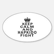 Keep Calm And Hapkido Fight Decal