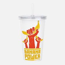 Powered By Banana Power Acrylic Double-wall Tumble