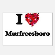 I love Murfreesboro Tenne Postcards (Package of 8)