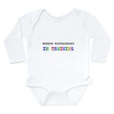 Cute Medical speech language pathology Long Sleeve Infant Bodysuit
