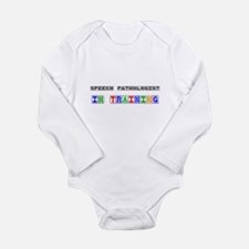 Funny Speech language pathologist assistant Long Sleeve Infant Bodysuit