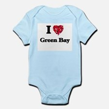 I love Green Bay Wisconsin Body Suit