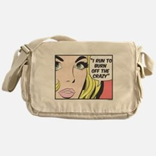 Run to Burn Off the Crazy Messenger Bag