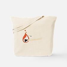 Love Match Tote Bag