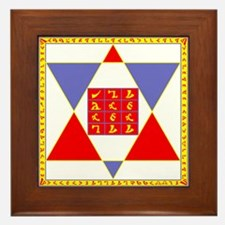 Holy Table of Practice Framed Tile