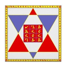 Holy Table of Practice Tile Coaster