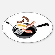 Breakfast Food Decal