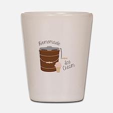 Homemade Ice Cream Shot Glass