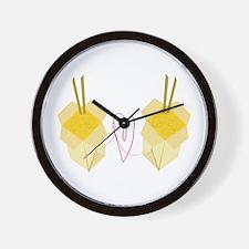 Chinese Food Wall Clock