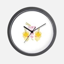 Go Home With You Wall Clock