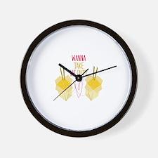 Take Me Out Wall Clock