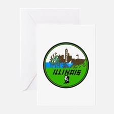 Illinois - Greeting Cards (Pk of 10)