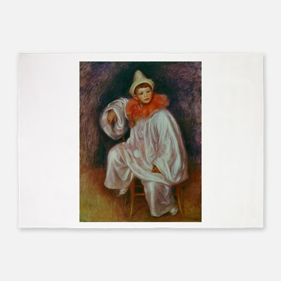Renoir circus art 5'x7'Area Rug