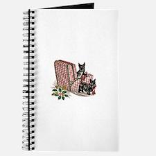 Scottish Terrier Christmas Journal