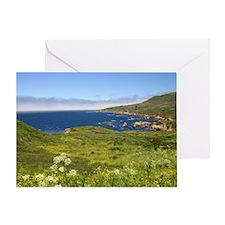 Unique Monterey bay Greeting Card