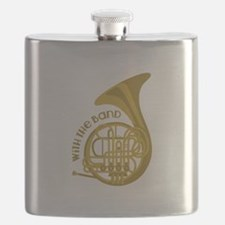 With The Band Flask
