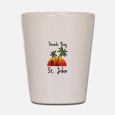 Trunk Bay St. John Shot Glass