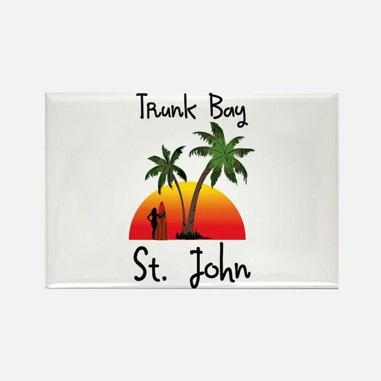 Trunk Bay St. John Magnets