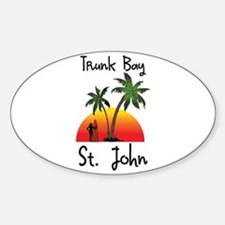 Trunk Bay St. John Decal