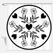 Funny Quilter mom Shower Curtain