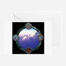 Elemental Sky Greeting Cards