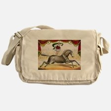 circus art Messenger Bag