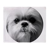 Shih tzus Fleece Blankets