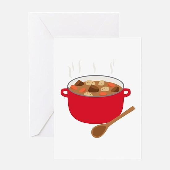 Stew Pot Greeting Cards