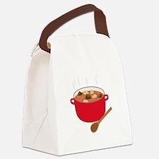 Stew Pot Canvas Lunch Bag