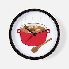 Stew Pot Wall Clock
