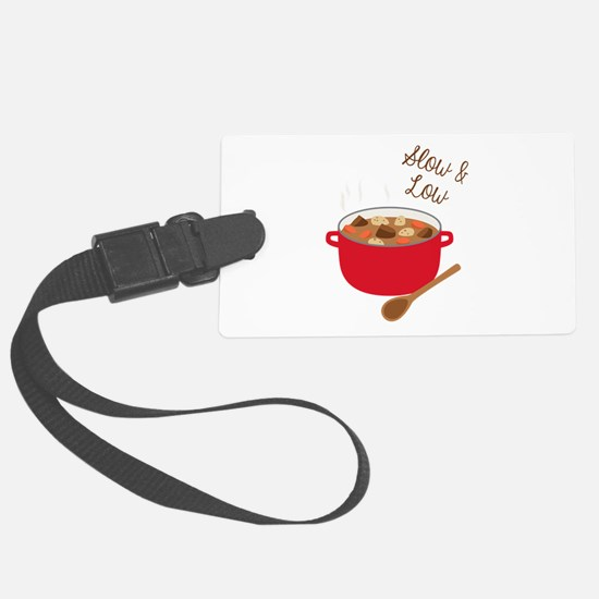 Slow & Low Luggage Tag
