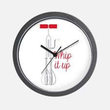 Whip It Up Wall Clock