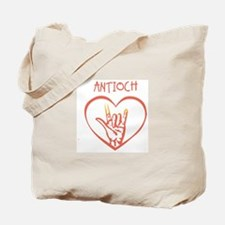 ANTIOCH (hand sign) Tote Bag
