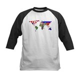 World map Baseball Jersey