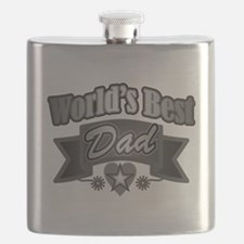 Unique Worlds greatest dad Flask