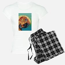 Sun Conure Parrot pajamas