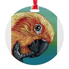 Sun Conure Parrot Ornament