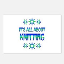 All About Knitting Postcards (Package of 8)