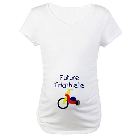 """Future Triathlete"" Maternity T-Shirt"