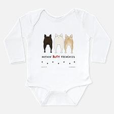 Unique Bulldogs Long Sleeve Infant Bodysuit