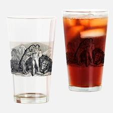 Circus art Drinking Glass