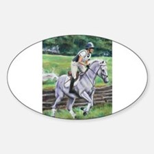 Cute Horse cross Decal