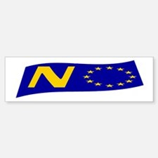 Just say NO to the EU! Bumper Bumper Sticker