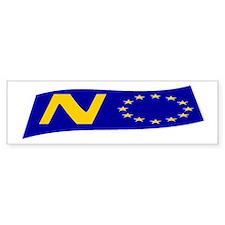 Just say NO to the EU! Bumper Sticker