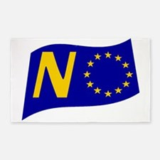 Just say NO to the EU! Area Rug