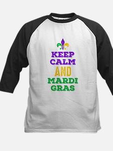 Keep Calm Mardi Gras Tee