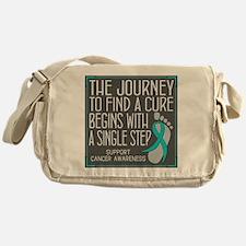 Ovarian Cancer Walk Messenger Bag